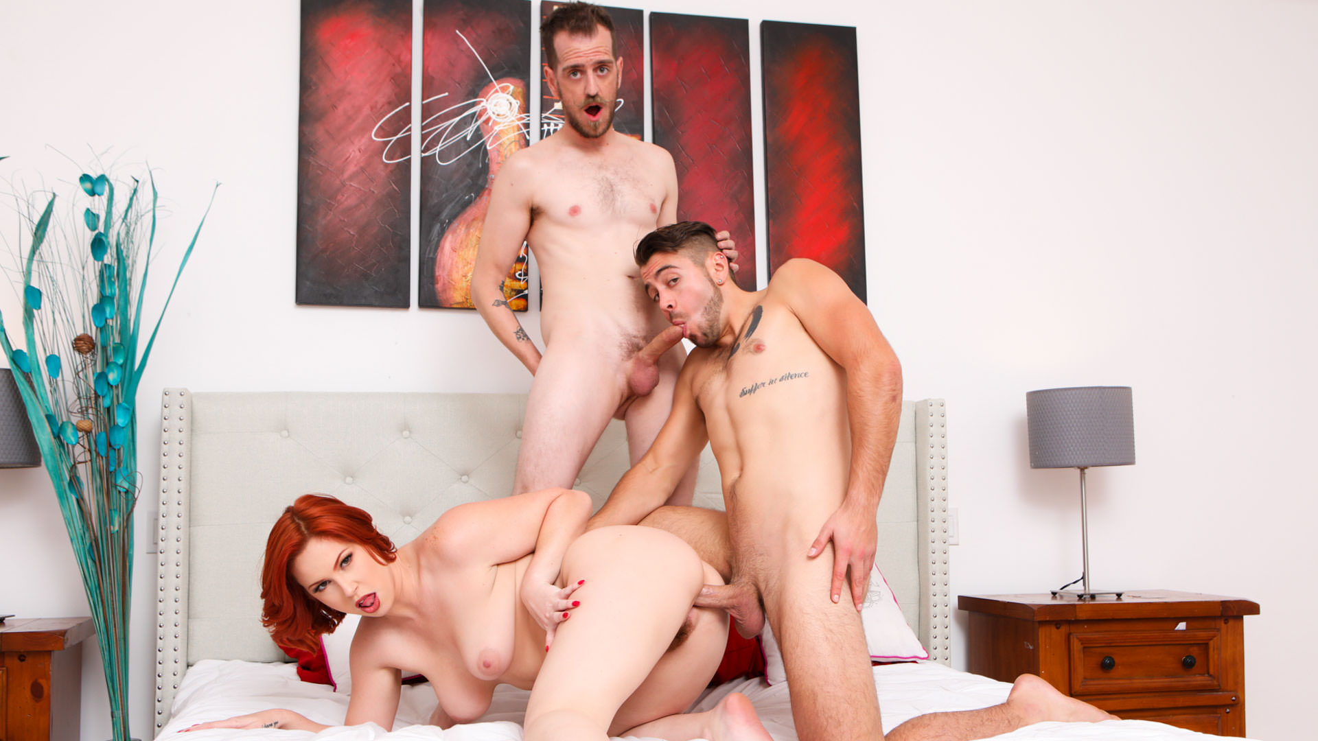 Bi Peg To Differ - Chad Diamond & Dante Colle & Edyn Blair 1