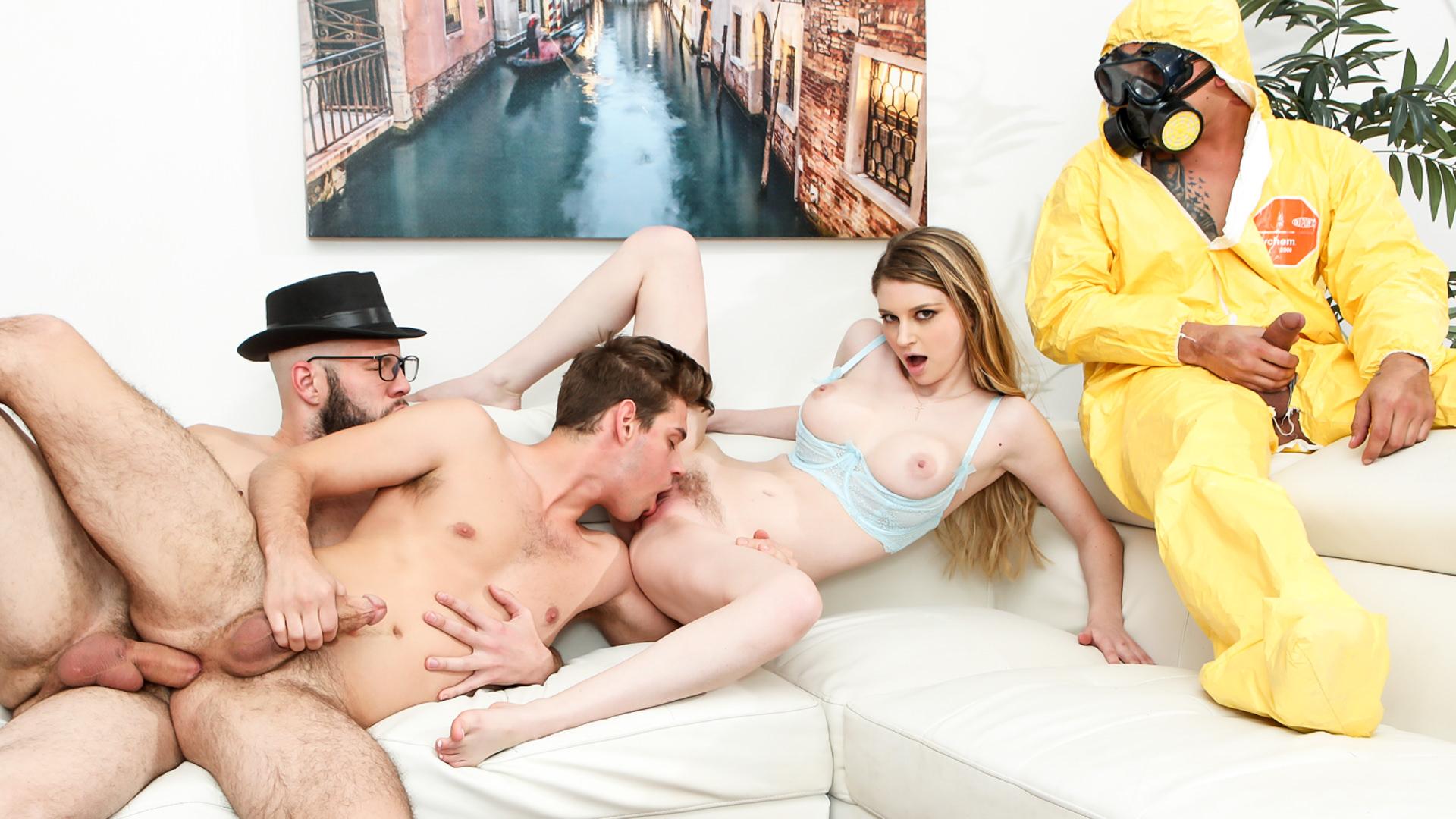 Breaking Bi - Wolf Hudson & Bunny Colby & Bentley Layne & Michael DelRay 1