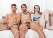 BTS-Bunny Colby's Bisexual Threesome - Dante Colle & Michael DelRay & Bunny Colby 1