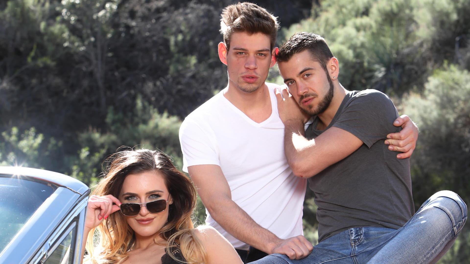 Naughty Bi Nature - Dante Colle & Michael DelRay & Ella Reese 1