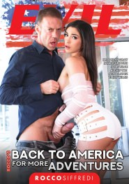 Rocco's Back to America for More Adventures Dvd Cover