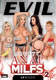 Slutty Anal MILFs #02 Dvd Cover