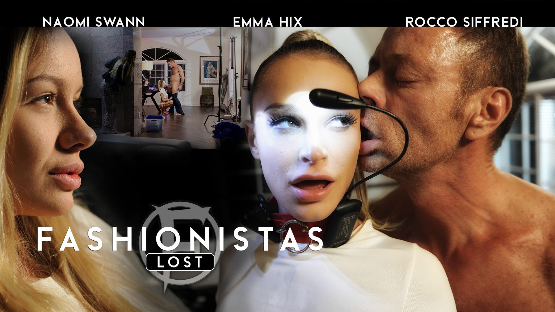 Fashionista - Lost - Rocco Siffredi & Emma Hix & Naomi Swann 1